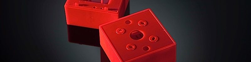 red  plastic pieces