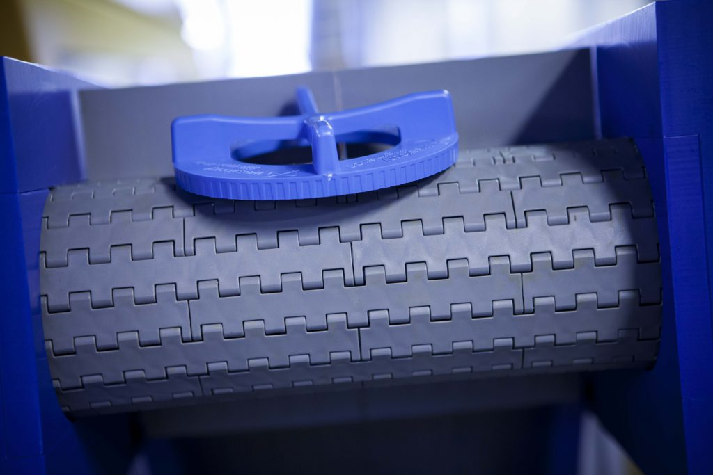 Fresh product from injection moulding machine