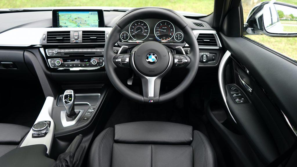 bmw car interior