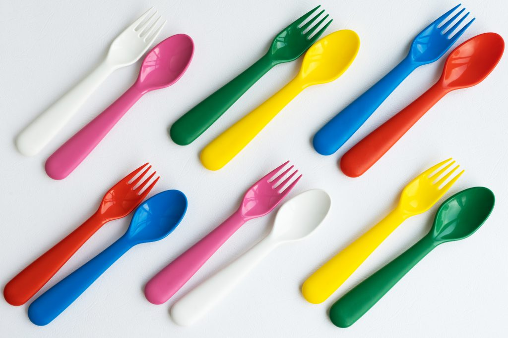injection moulded utensils